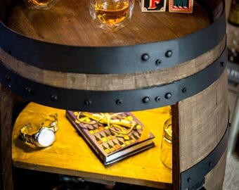 Personalised Small Barrel Drinks Cabinet