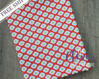 Quilting Fabric, Medallion Red, Dutch Treat, Betz White, Riley Blake Designs, Yardage