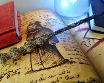 spiral wand witch