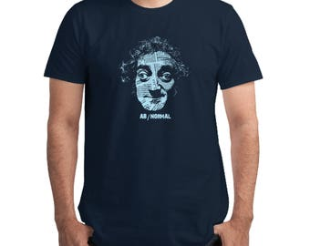 AbNormal T-shirt, Marty Feldman, Young Frankenstein, Igor, Funny, Gift for Cinema Lovers, Silkscreen, Hand Printed, Cotton tee, Men's tee