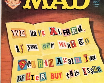 MAD Magazine #191 We Have Alfred June 1977 Issue