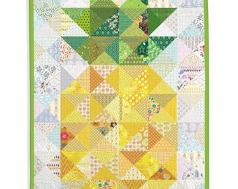 Traditional Quilt, Fruit, Living Room, Decor - Pineapple Quilt