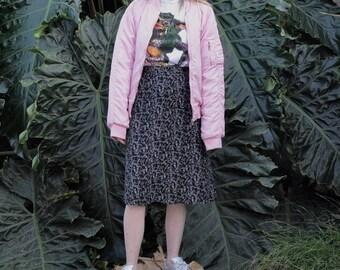 Pastel Pink SouthPole Puffer Bomber Jacket