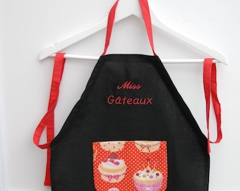Apron of cooking(kitchen) customizable child