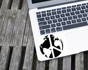 World Peace | Peace | World Decal | Window Sticker| Car Decal | Laptop Decal | Vinyl Decal