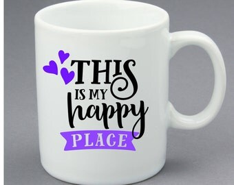 This is My Happy Place Mug