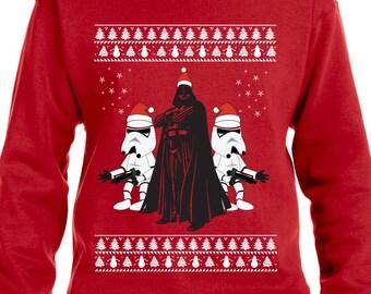 Darth Vader Sweater Ugly Christmas Sweater Storm Troopers Star Wars Sweater Star Wars Hoodie Christmas Hoodie TH384