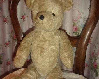 A charming big old bear or vintage Teddy