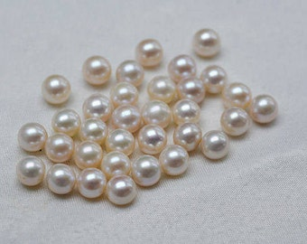 11-14mm edison loose pearls for earrring making