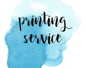 Printing Service for Cambridge City Limits' Digital Prints