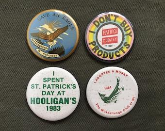 Vintage Jacket Pins