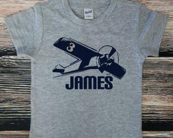 Birthday Plane Shirt, Plane Shirt,  Airplane Birthday Shirt