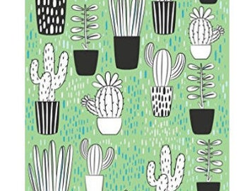 Cactus Notebook, Bullet journal notebook,Sketch Book