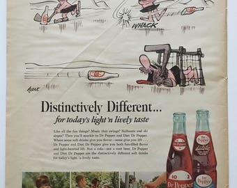 Dr Pepper Ad from 1965 LIFE magazine
