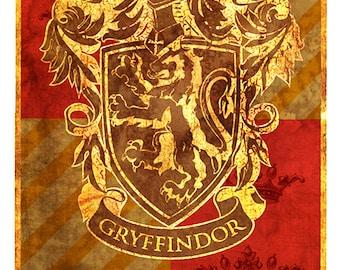 Hogwarts lifesize banner, Gryffindor