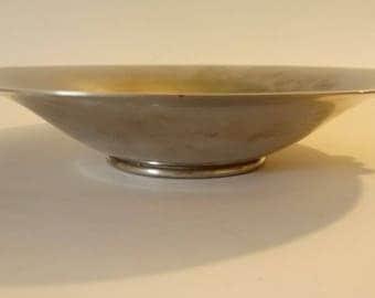 Vintage Metawa Holland Pewter Bowl Tray Plate