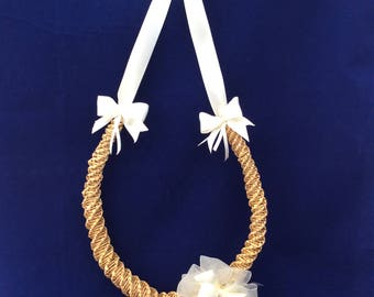 Horseshoe - bridal favour - wedding favour - corn dolly - bridal gift - wedding decoration