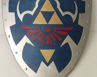 how to ride on your sheild zelda