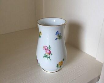 Hutschenreuther Flower Vase, small vase, porcelain vase, Mirabell vase