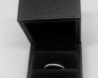 Georg Jensen 18ct gold full eternity ring