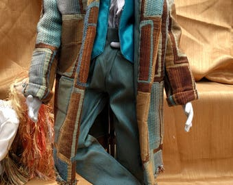 Edward the Victorian Skater Art Doll One of a Kind