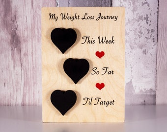 Weight Loss Chart, Weight Loss Plaque, Weight Loss Tracker, Diet Tracker, Pounds Lost, Pounds To Target, Healthy Living, Weight Motivation