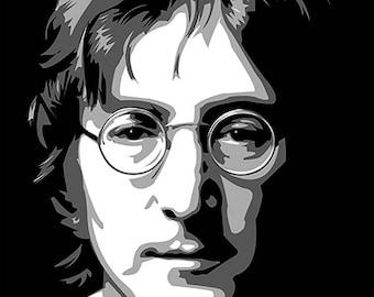 John Lennon Digital Print