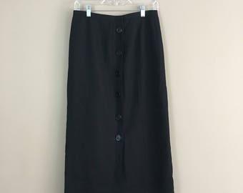 90's Button Down Skirt