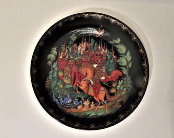 "7.5"" Russian Fairy Tale Collector Tianex Plate"