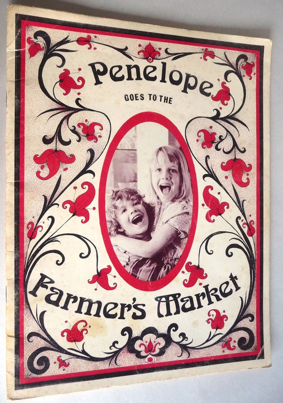 Penelope Goes to the Farmer's Market 1973 by Shirley Boccaccio - Feminist Liberation Children's Storybook Pictures