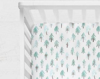 WOODLAND CRIB BEDDING. trees crib bedding. woodland baby bedding. woodland nursery. woodland blanket. woodland crib sheet. trees crib sheet.