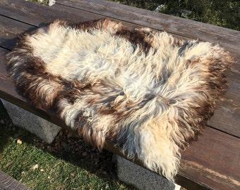 Big genuine Sheepskin Rug from Bosnia / 56
