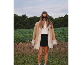 Always on My Mind - size XL Penny Lane Coat Shearling