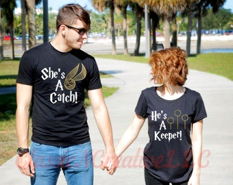 She's a Catch, He's a Keeper