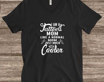 Tattooed Mom T-shirt - Cool Mom Shirts - Funny Mom Shirts - Custom Shirts - Tattooed Women