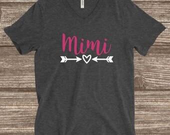 Mimi Shirt - Cute Mimi Shirt - Mimi Gifts - Customized Mimi Shirts - Grandma Shirts - Grandparents Shirts