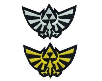 ZELDA PATCH: Legend of Zelda, Iron On Patches, Patches for Jackets, Zelda Patches, Legend of Zelda Patch