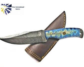 EveryDay Carry Damascus Knife  Titan Td-201