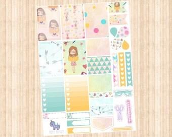 Planner Girl Weekly Kit // Happy Planner // Erin Condren // Personal