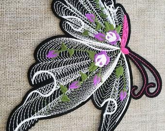 Unique butterfly patch #7C2001