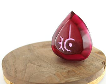 Final Fantasy 14 Soul of the Red Mage FFXIV Job Stone/Soul Crystal Keychain RDM