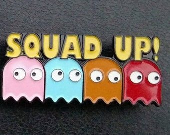 Squad Up! Throw back pin