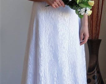 Bride lace dress, wedding dress, stretch high quality,lined,not transparent,strapless