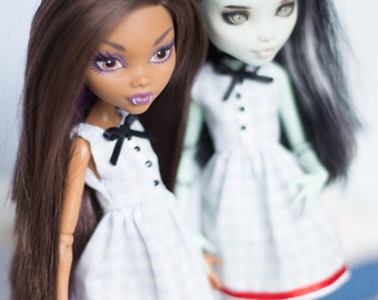 dress outfit for monster high doll  MH 27 cm  1/6