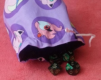 Fairy Pokemon Dice Bag