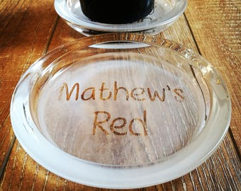Red Wine Bottle Coaster