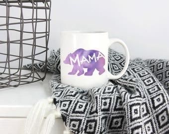 Mama Bear, Mama Bear Mug, Mug for Mama Bear, Mom Mug, Mug for Mom, New Mom Mug, Mama Bear Design, Mama Bear Mugs, Mama Bear Cup, Mama Gift