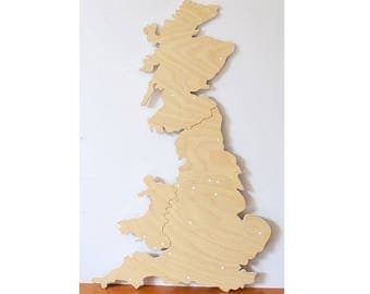 Great Britain Wall decor wood