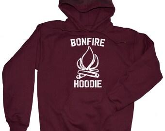 Bonfire Hoodie. Camping Hoodie. Camping Sweatshirt - Hooded. S-3XL.