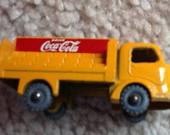 Coca Cola #37 Matchbox Lesney Delivery Truck~SALE PRICED